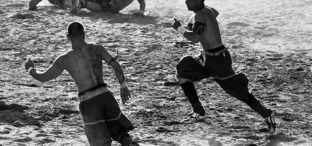 Флорентийский футбол без правил. Санта-Кроче