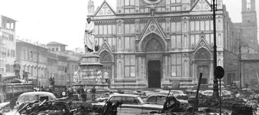 Наводнение во Флоренции 4.11.1966