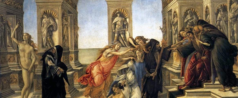 Клевета. Тайный смысл картины Боттичелли