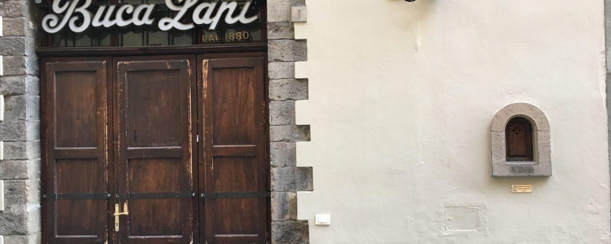 Виноделие во Флоренции. Окошки для вина